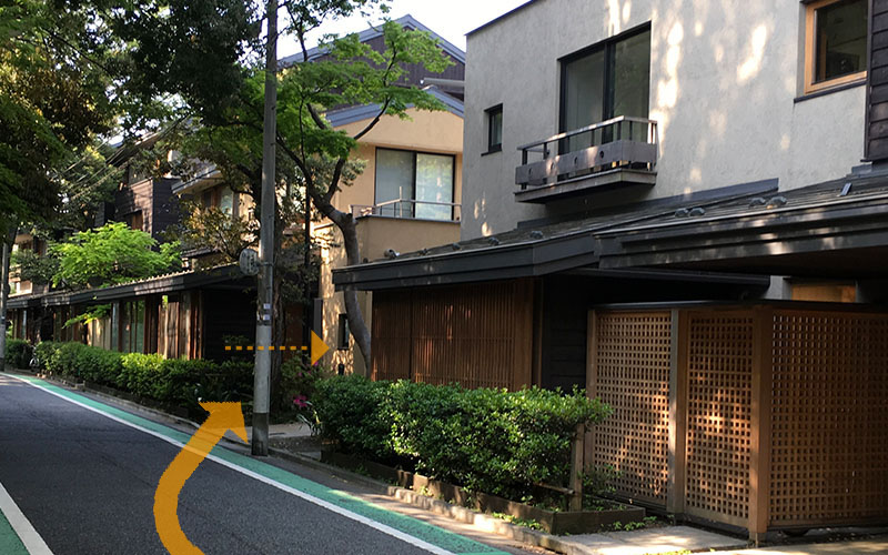 エデュースアカデミー東京・本校までの道順07